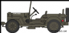 OXFORD 76WMB004 Willys MB RAF 83 Grp.2nd Tactical AF -1944 * PRE ORDER £5.95 *